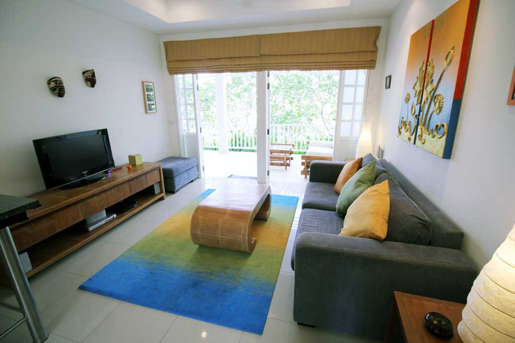 1 bedroom / 1 bathroom Apartment in Cherng Talay is on the market for sale, or re-sale.