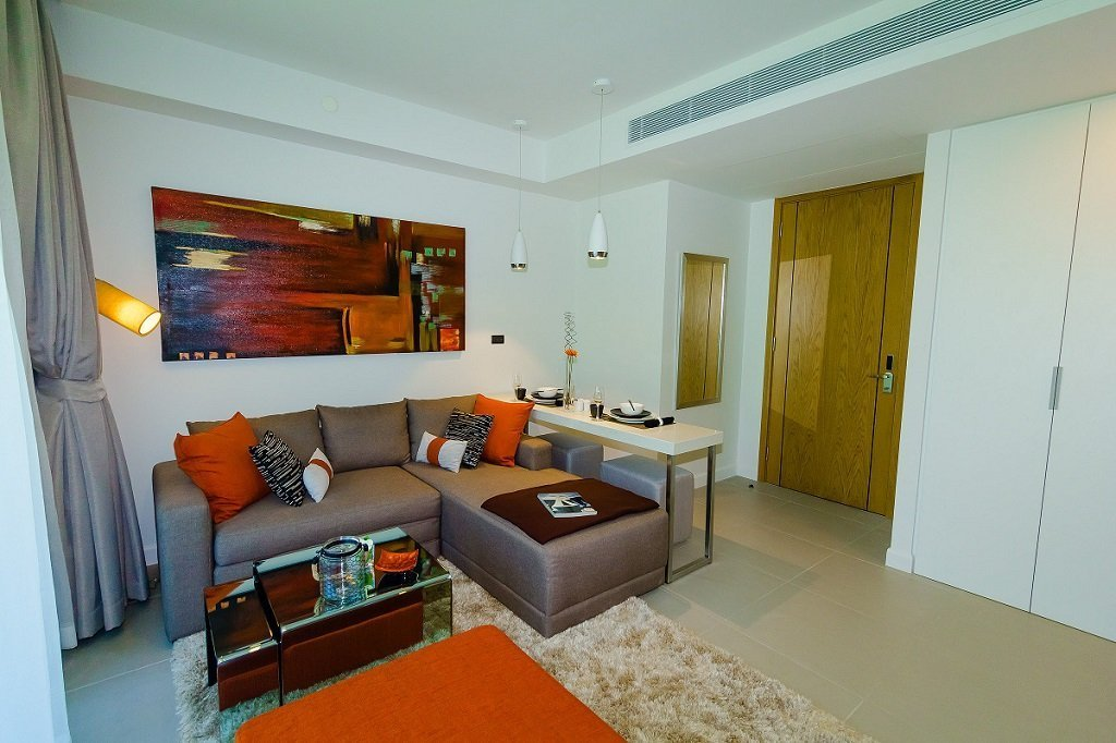 This 2 bedroom / 1 bathroom Apartment for sale is located in Cherng Talay on Phuket