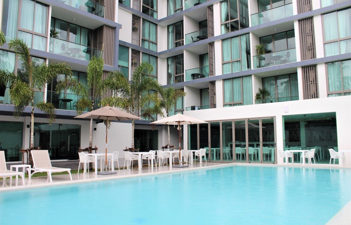 2 bedroom / 1 bathroom Apartment in Cherng Talay is for sale, or re-sale.