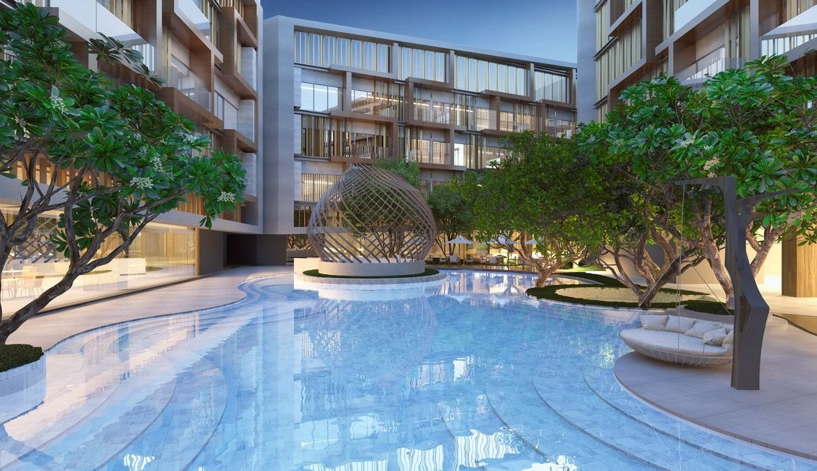 1 bedroom / 1 bathroom Apartment in Layan is on the market for sale, or re-sale.