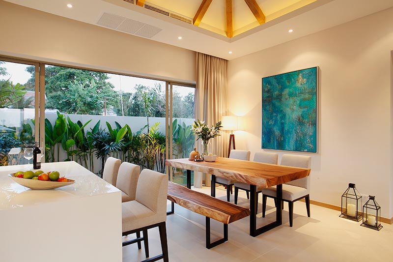 This 3 bedroom / 2 bathroom Villa for sale is located in Cherng Talay on Phuket