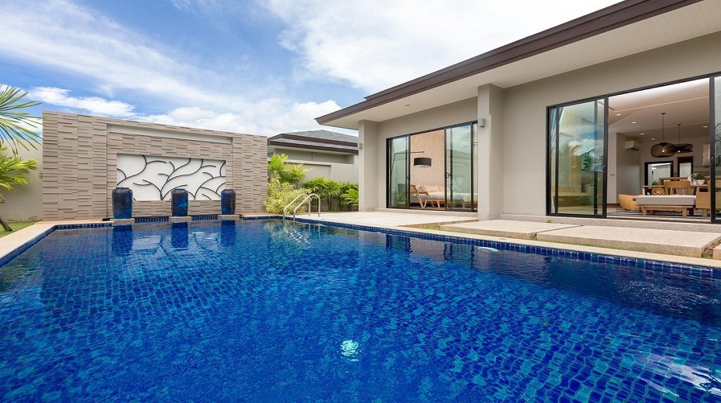 This 3 bedroom / 4 bathroom Villa for sale is located in Layan on Phuket