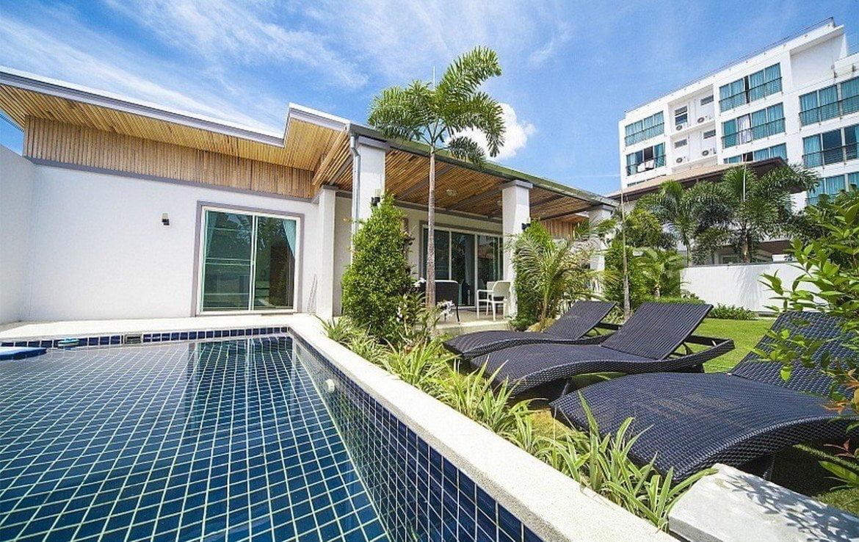 This 2 bedroom / 3 bathroom Villa for sale is located in Kamala on Phuket