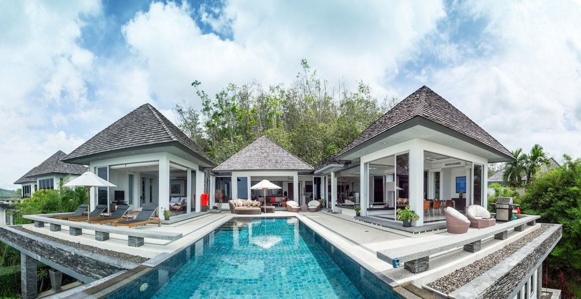 5 bedroom / 6 bathroom Villa in Layan is on the market for sale, or re-sale.