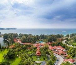 Dusit Thani Laguna Phuket. Location at 390 Srisoonthorn Road, Chengtalay, Phuket