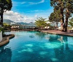 Sunset Beach Resort. Location at 316/2 Phrabaramee Rd., Phuket