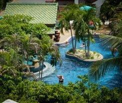 The Thames Pool Access Resort. Location at 77 Moo 8