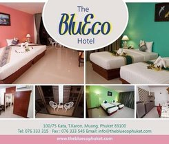 The BluEco Hotel. Location at 100 / 75 Kata, T.Karon, Muang, Phuket