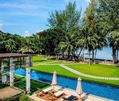 Indochine Resort and Villas. Location at 328 Prabaramee Road, Patong, Phuket