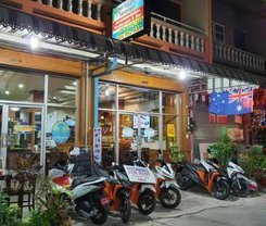 Andaman Sea Guesthouse Patong. Location at 207/14-15 Rat-U-Thit Rd. Soi Andaman Square