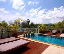 Rayaburi Hotel, Patong. Location at 3/8 Sawatdirak Road, Patong Beach, Phuket