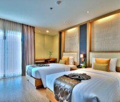 The ASHLEE Plaza Patong Hotel & Spa. Location at 34/50-57 Prachanukhro Road, Patong, Kathu, Phuket 83150