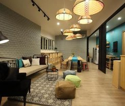 Lupta Hostel Patong Hideaway. Location at 138 taweewong Rd.,Patong, Katu, Phuket