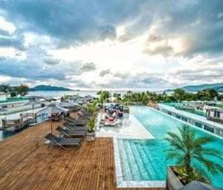 Hotel Clover Patong Phuket. Location at 162/8-11 Taweewong Rd., Patong Beach, Kathu