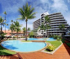 Patong Beach Hotel. Location at 124 Taweewong Road, Patong Beach, Phuket