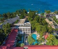 Patong Lodge Hotel. Location at 284/1 Prabaramee road, Kathu, Phuket
