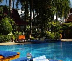 Safari Beach Hotel. Location at 136 Thaweewong Road, Kathu, Phuket