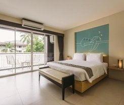 TIRAS Patong Beach Hotel. Location at 92/5 Thawewong Rd. Patong Beach, Kathu