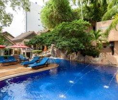 Patong Merlin Hotel. Location at 44 Thaveewong Rd., Patong Beach