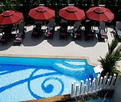 The Bliss South Beach Patong. Location at 40 Thaweevongs Road, Phuket