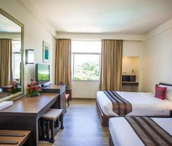 Phuket Merlin Hotel. Location at 158/1 Jawaraj Rd.,