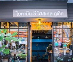 Vitamin Sea Hostel Phuket. Location at 54/8 Montri Road